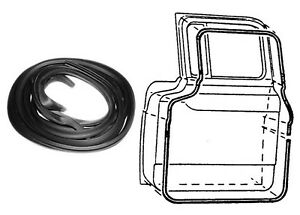 Door Seal Weatherstrip Kit 1956 Ford Pickup Truck Does Both Doors