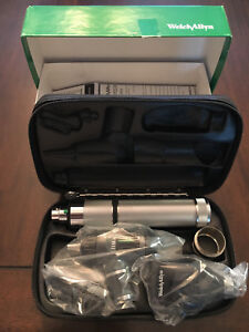 New Welch Allyn Diagnostic Set 97100 Macroview Otoscope Ophthalmoscope