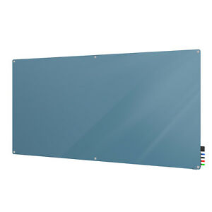 Ghent Harmony 4 h X 6 w Glass Magnetic White Markerboard With Radius Corners