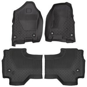 2019 Dodge Ram 1500 Dt Quad Cab All Weather Slush Floor Mats Front