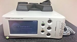 Stryker Core Powered Instrument Driver Unit 5400 050 000 With Foot Pedal Switch