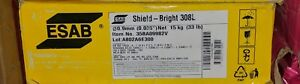 Esab Shield bright 308l Stainless Flux Core Mig Welding Wire 0 035 33lb Spool