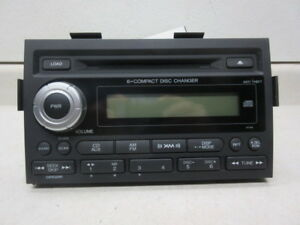 06 07 08 Honda Ridgeline 6 Disc Cd Player Radio 3ts0 Oem