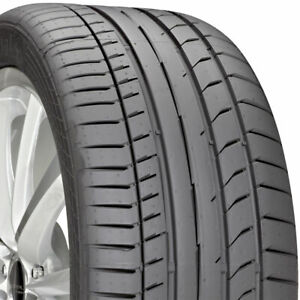 2 New 295 30 20 Continental Sport Contact 5p 30r R20 Tires