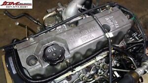 91 99 Mitsubishi Lancer Mirage 2 0l Turbo Diesel Engine Manual Trans Jdm 4d68
