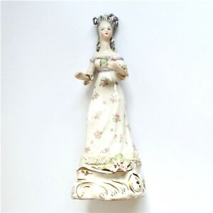 Sale Vintage Porcelain Hand Painted Cordey French Empire Figurine Signed 11