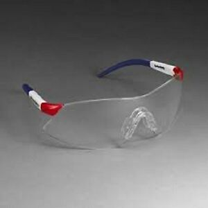 22 New 3m 1722 Clear Lazer Patriot Safety Glasses 5 position Protective Eyewear
