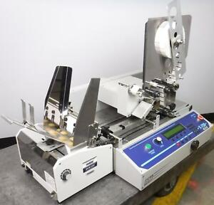Rena T 750 In line Stamp Affixer Tabbing Machine W Easy feed Lite Feeder