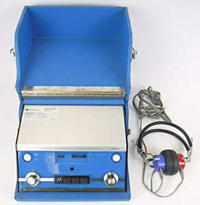 Maico Ma 19 Audiometer Hearing Screening Instrument Tested Working