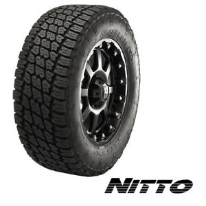 Nitto Terra Grappler G2 35x12 5r20lt 125r 12 Ply quantity Of 4