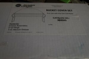 Beckman Centrifuge Transparent Bucket Covers 360585 For Gh 3 8 Rotor