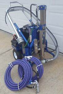 New Graco Gh833 Es w electric Start Hydraulic Gas Airless Paint Sprayer big Rig