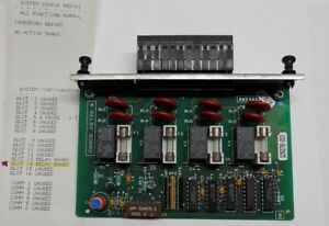 Veeder root 4 relay Output Module 329278 001 Tls 350 Gilbarco 4 Relay Board