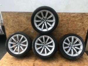 158 Bmw E65 E66 745i 760li 750li Complete Staggered Wheel Wheels Rim Tire Oem