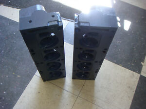 1967 Shelby Gt500 Ford Mustang Cylinder Heads 390 Gt 428 C7ae 6090 a Smog