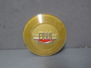 49 Ford Horn Ring Emblem Button