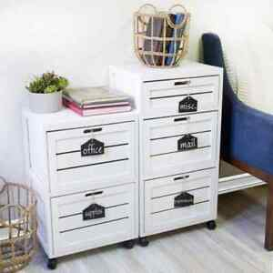 2 Drawer File Cabinet Wood Storage Organizer Home White Filing Cabinet Wheels