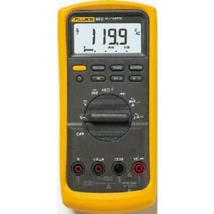 Fluke 83 5 Industrial Digital Multimeter With A Nist traceable Calibration With