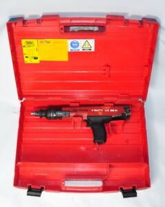 Hilti Dx36m Semi Automatic Powder Actuated Fastening Tool Nail Gun Case