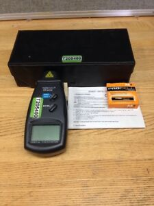Velleman Dto6234 Digital Tachometer W Case And Manual