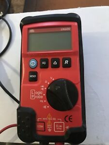 Mac Tools Em600 Digital Multimeter With Orig Used Leads