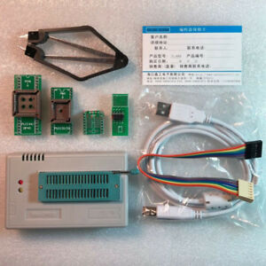 Tl866ii Plus Programmer Usb With 4 Adapters For Eprom Eeprom Flash Useful
