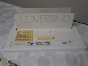 Coverbind 5000 Thermal Cover Binding Machine W Cooling Rack Base Plate Only