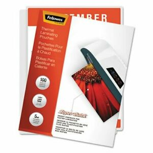 Fellowes Laminating Pouches 5mil 11 X 9 100 pack fel5223001