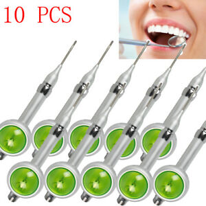 10pcs Dental Hygiene Prophy Jet Air Polisher System Teeth Polishing Handpiece 2h