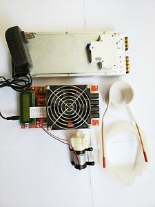 2kw Induction Heater Module Heating Circuit Board Plus Power Supply Unit Diy