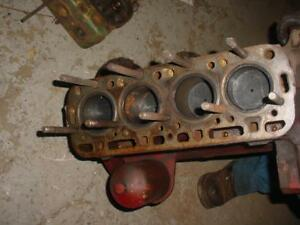 Farmall C super A Tractor Short Block Engine Assembly Ihc Super A c