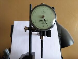 Dial Indicator With Magnetic Base And Fine Adjustment