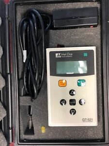 Met One Instruments Particle Counter Gt 521 In Case
