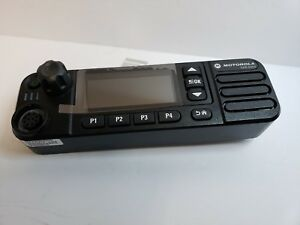 new Motorola Xpr 5550 Front Panel Control Head Mototrbo Dmr