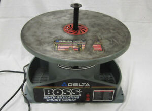 Delta 31 780 Boss Bench Oscillating Spindle Sander
