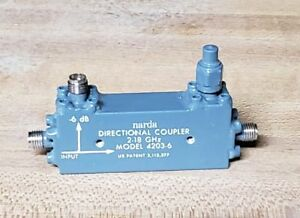 Narda 4203 6 directional Coupler 2 18ghz Nos New