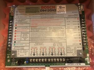 D9412gv2 Safety Intrusion Fire Access Control System By Bosch Reduced