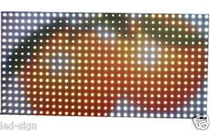 72pcs P10 Ph10 Rgb Full Color Led Display Module Board 16 32 Dot Matrix