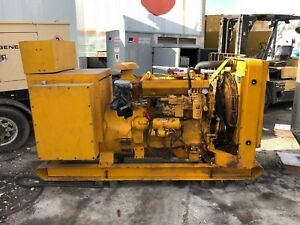 105 Kw Caterpillar 3304 3 Phase Diesel Generator Used