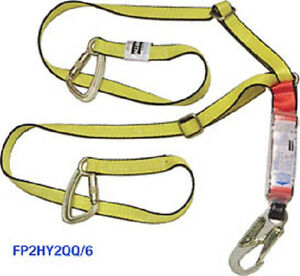 North Safety Ty rite 1 3 4 X 6 Y Lanyard Fp2hy2qq 6 Fall Protection Equipment