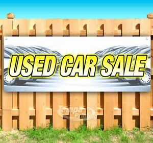 Used Car Sale Advertising Vinyl Banner Flag Sign Many Sizes