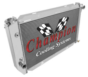 4 Row Western Champion Radiator For 1972 73 74 75 76 77 78 1979 Ford Thunderbird