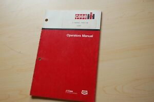 Case Ih 5289 Farm Tractor Owner Operator Operation Manual Book Maintenance Guide
