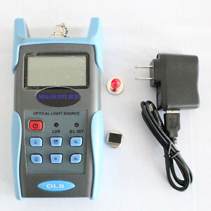 Jw3116 Handheld Adjustable Fiber Optic Tester 1310 1550 1625nm