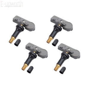 4 Pcs Tpms Tire Pressure Monitoring Sensors For Chevy Gmc Oe 13581558 315mhz
