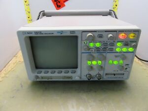 Agilent 54621d Mixed Signal Oscilloscope Logic Analyzer 60mhz 200ms s 4 t 54