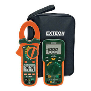 Extech Etk35 Electrical Test Kit W trms Ac dc Clamp Meter