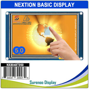 5 0 Nextion Hmi Intelligent Smart Usart Serial Touch Panel Lcd Module Display