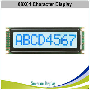 801 0801 Character Lcd Module Display Screen Panel Lcm Stn Gray White Splc780d