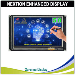 5 0 Nextion Enhanced Hmi Intelligent Smart Usart Serial Lcd Module Display